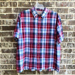 Men's Button Up Short Sleeves Casual Shir